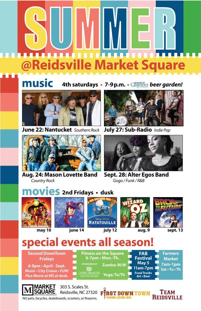 Movie on the Square @ Market Square | Reidsville | North Carolina | United States