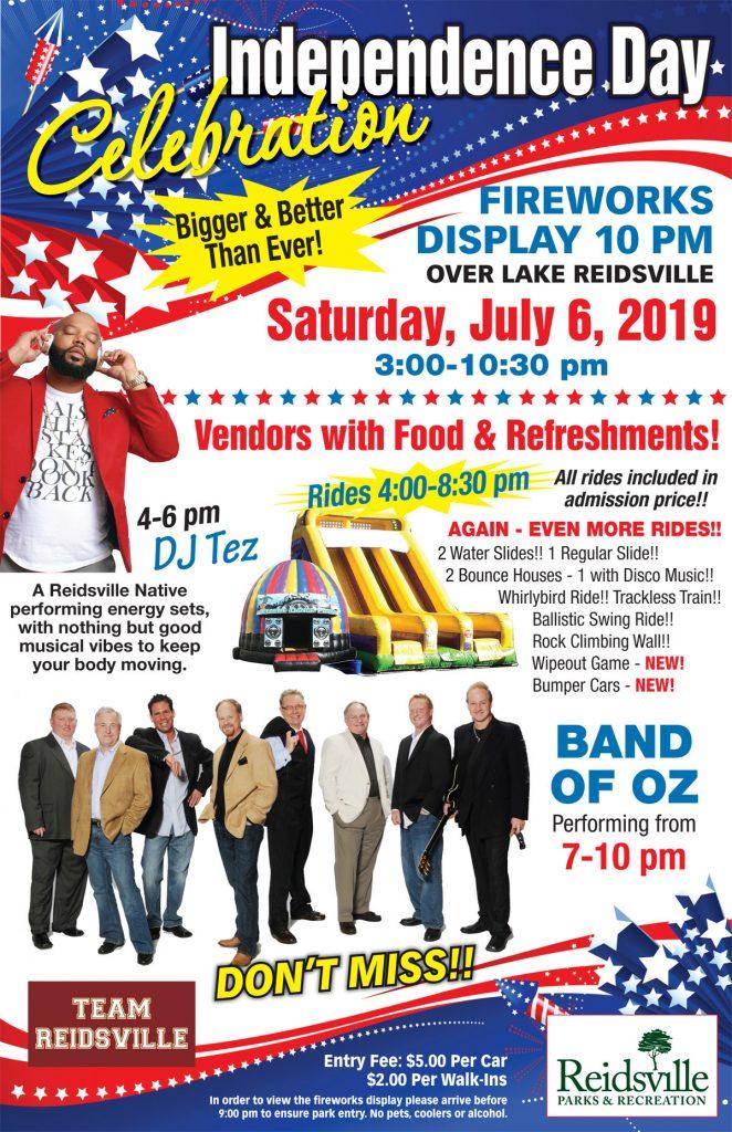 Independence Day Celebration at Lake Reidsville @ Lake Reidsville | London | Kentucky | United States