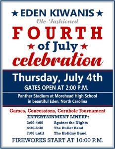 Eden Kiwanis Old Fashioned 4th of July Celebration
