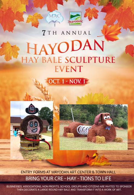 HAYODAN - Hay Bale Sculpture Event @ Mayodan | North Carolina | United States